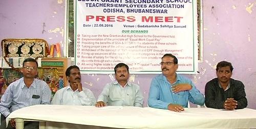 block-grant teachers press meet