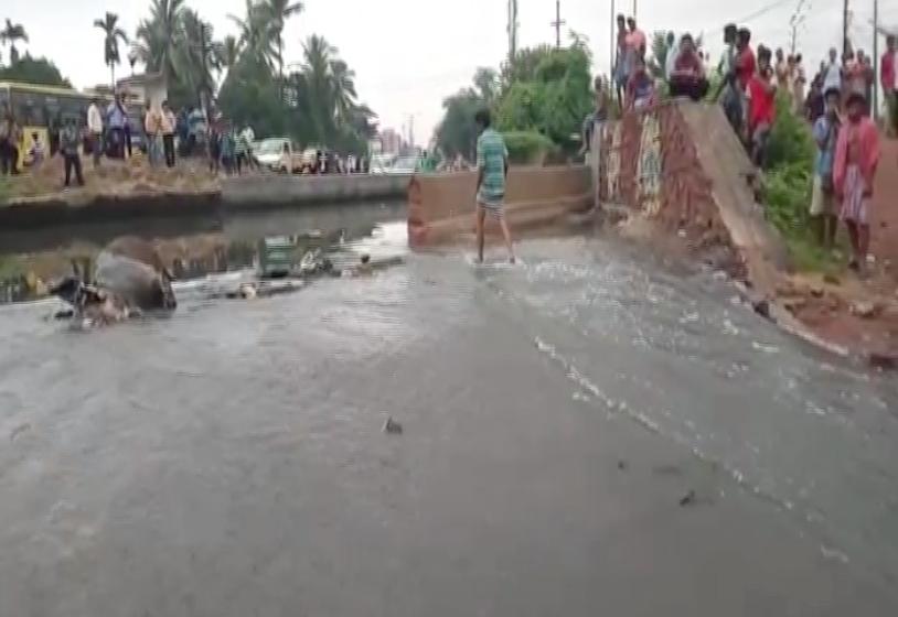 canal breach