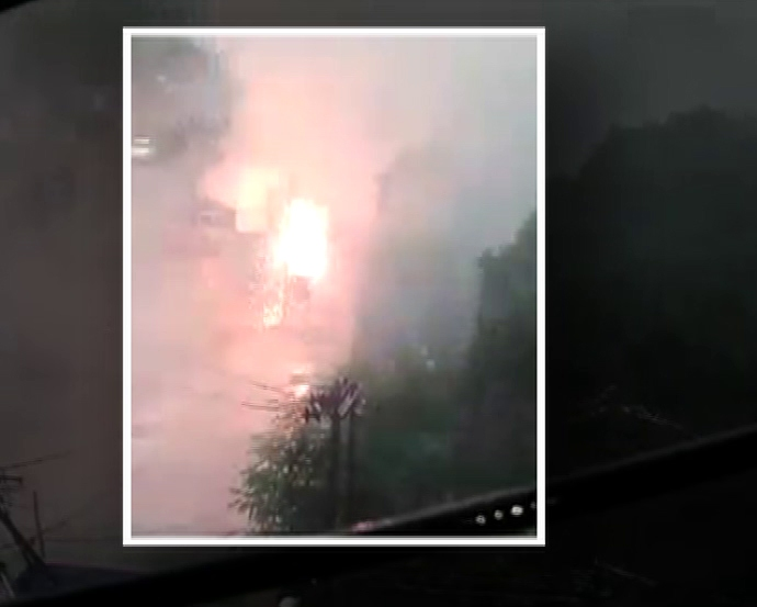 Massive fire breaks out in China hotel, several feared trapped