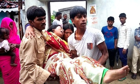Hirakud child death
