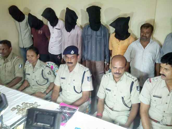 criminals arrested in Rourkela