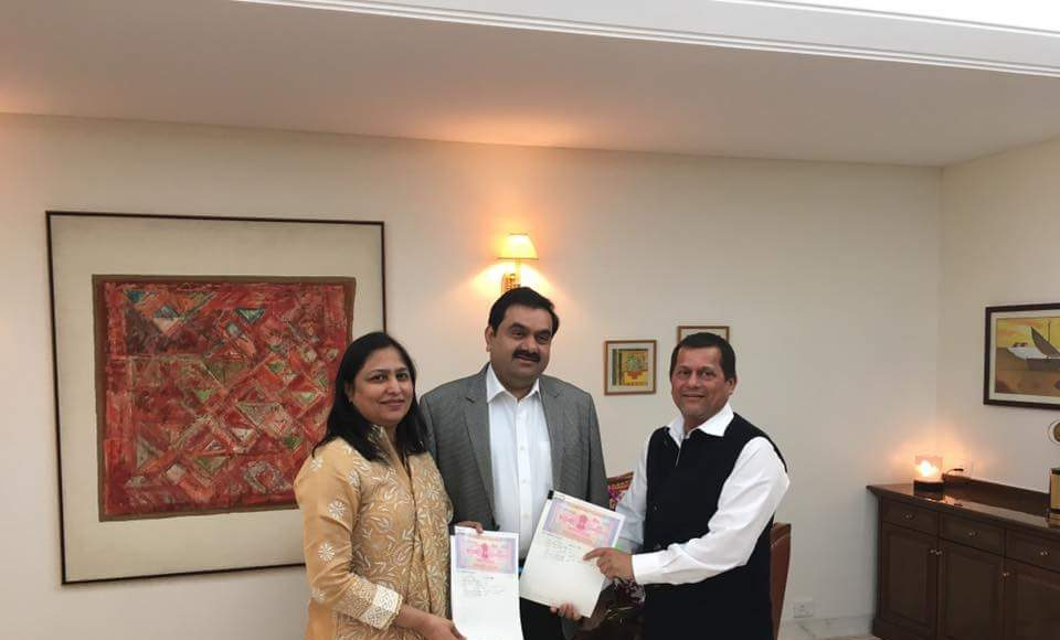 KISS inks MoU with Adani Foundation for branch in Mayurbhanj