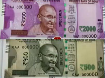 RBI to launch new Rs 500/Rs 2000 notes from November 10