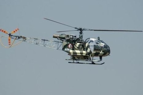 Army officers die in copter crash at Sukna