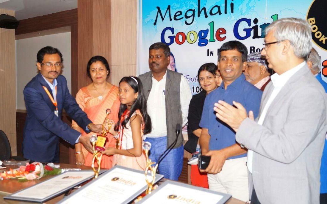 Google girl Meghali