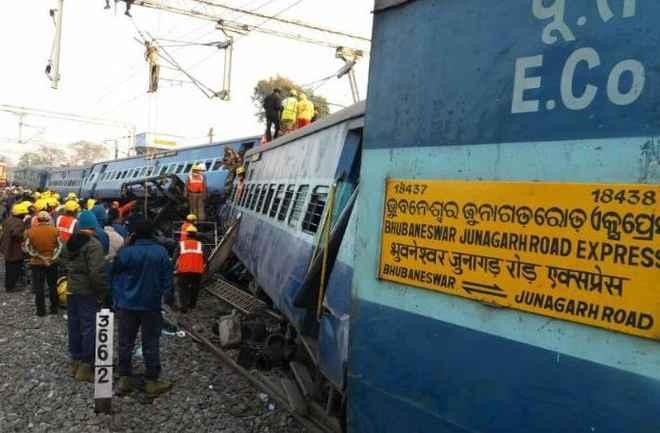 Hirakhand express derailment
