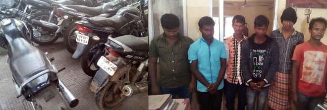 bike theft gang bhubaneswar