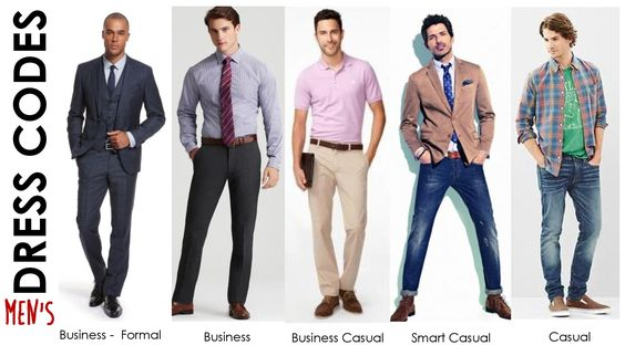 casual office wear men