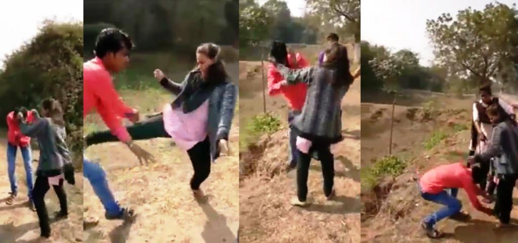One More Odisha Girl Punishes Eve-Teaser In Public -8240
