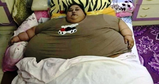 500 kg woman