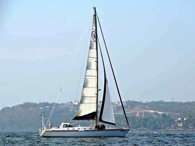 Sail boat Tarini to be inducted into Indian Navy on Saturday