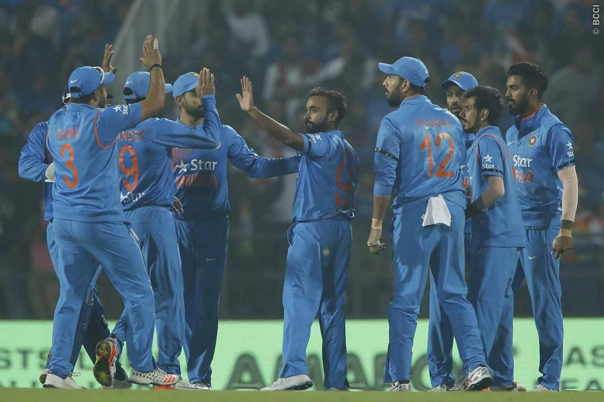 India wins T 20 match against England