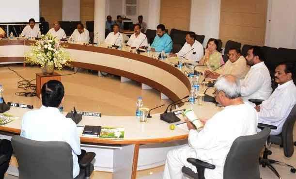 Odisha Cabinet meeting