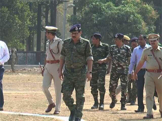 Odisha DGP in Kandhamal