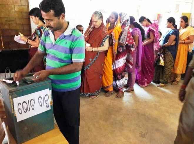 Polling for panchayat polls
