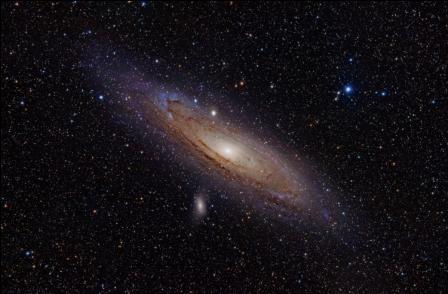 andromeda galaxay