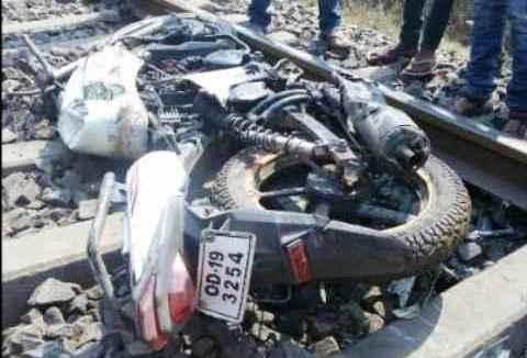 bike train accident