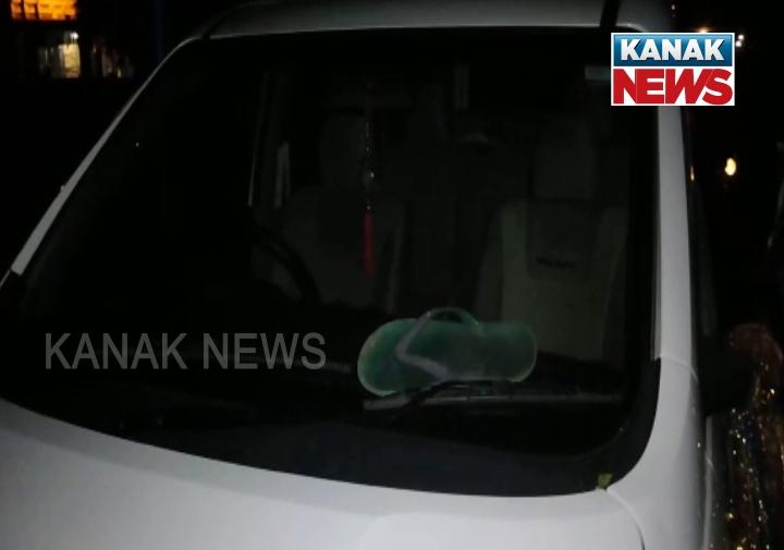 raja swain vehicle chappal