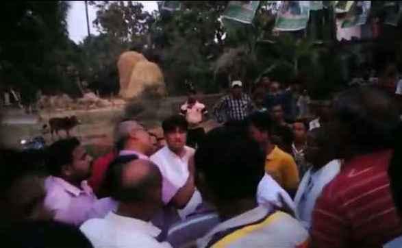 raja swain villagers attack