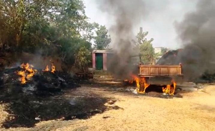 tarabha house on fire