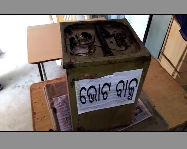 vote box torch