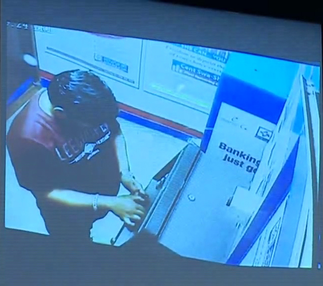 ATM looter arrested