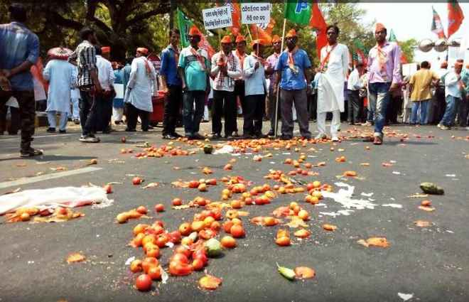 BJP-Krushak-protest@PMG
