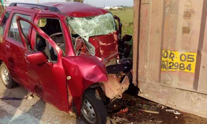 BU prof car accident