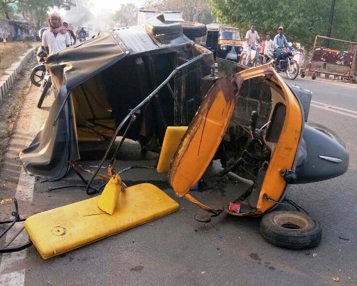auto truck accident
