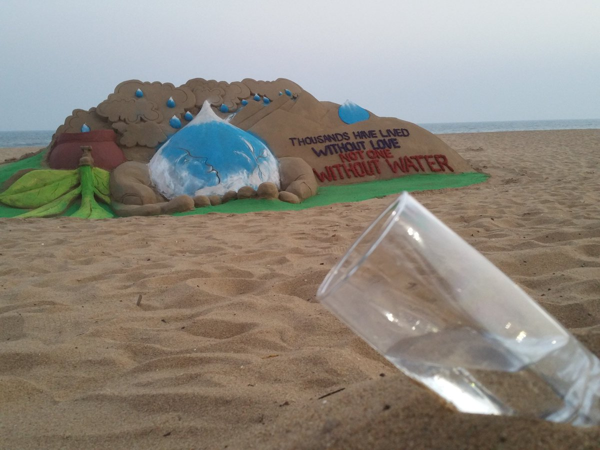 manas-sahoo-sand art-world-water-day