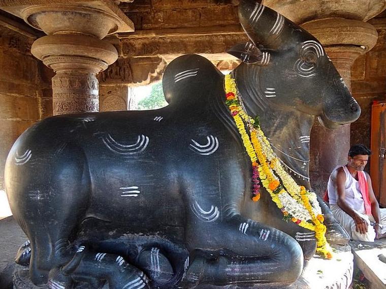 nandi the bull shiva temple