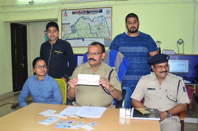 sambalpur arrest Rs 27 lakh jewelry
