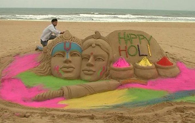 sand sculpture-holi