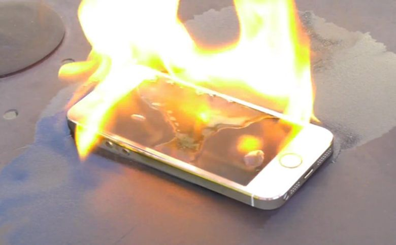 smartphone fire