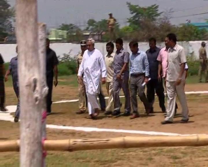 CM Naveen at Bhadrak
