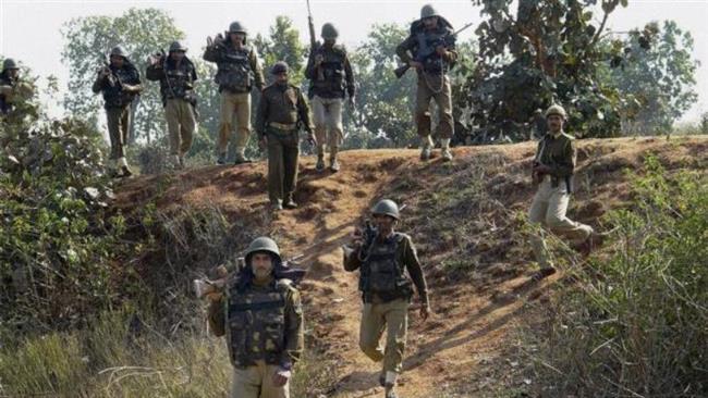 Maoist-police