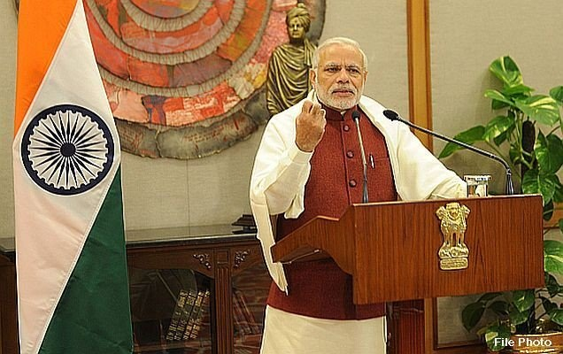 PM talks education and security in India