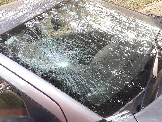 Prof car vandalism