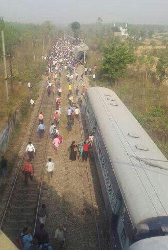 Rajya Rani Express-derail