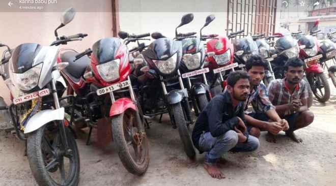 bike lifting gang