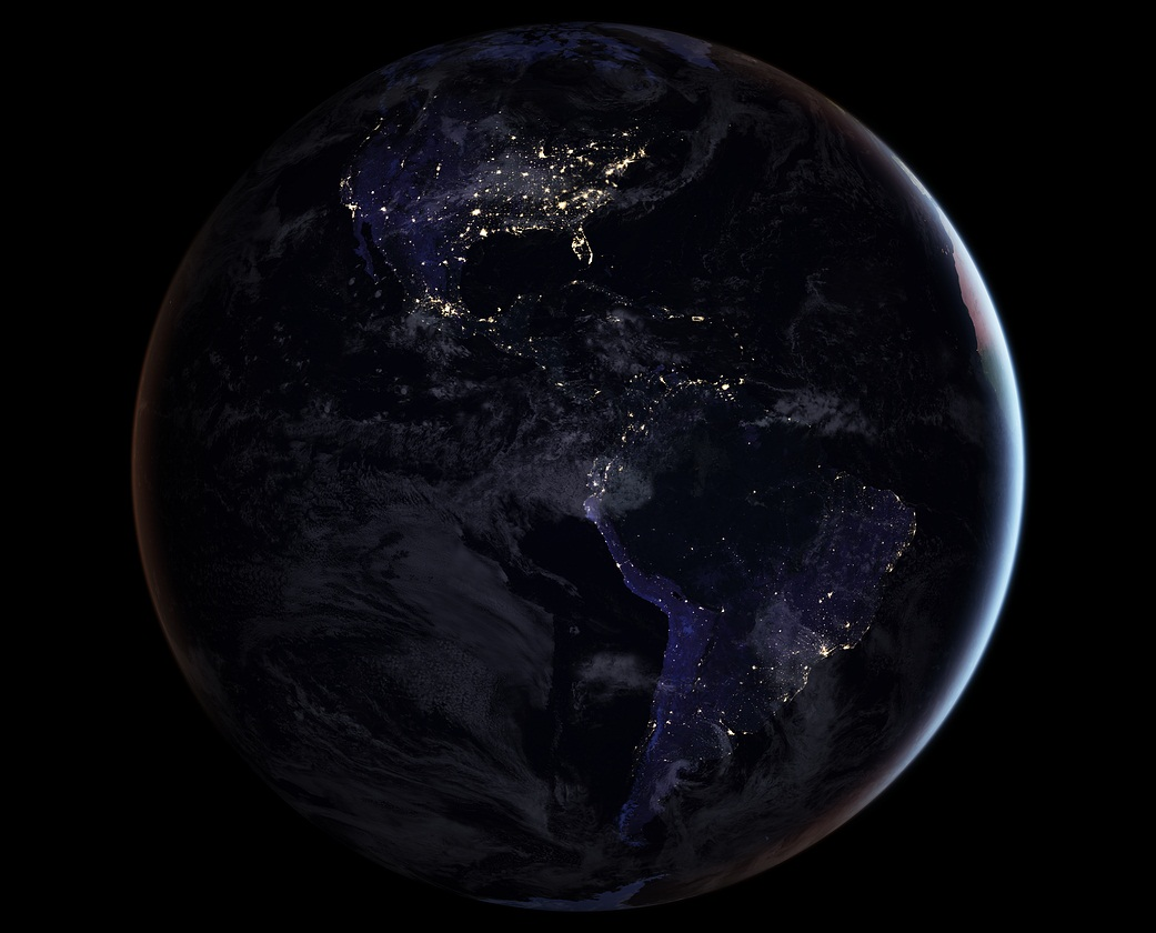 x 11 from space nasa earth at night - photo #48