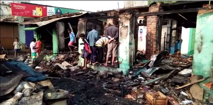 fire at bargarh