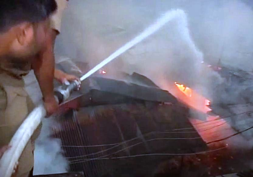 fire mishap sambalpur