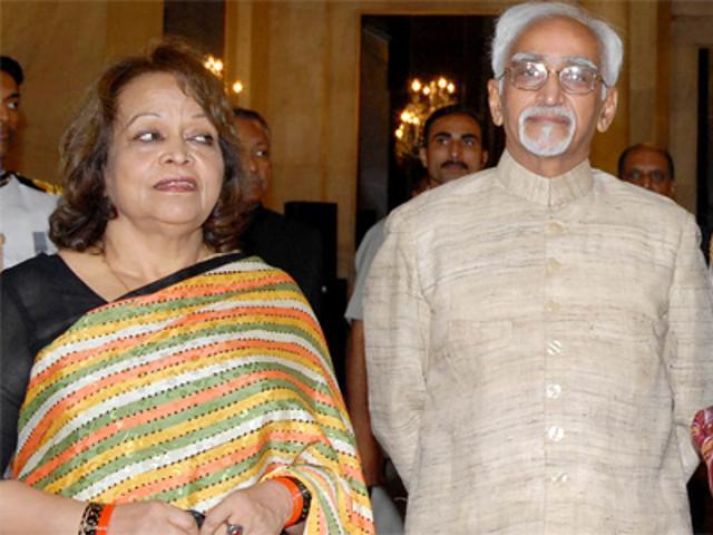 hamid-ansari-with-his-wife-salma-ansari