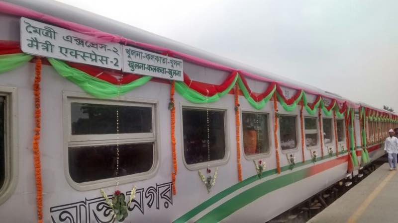 india bangladesh train