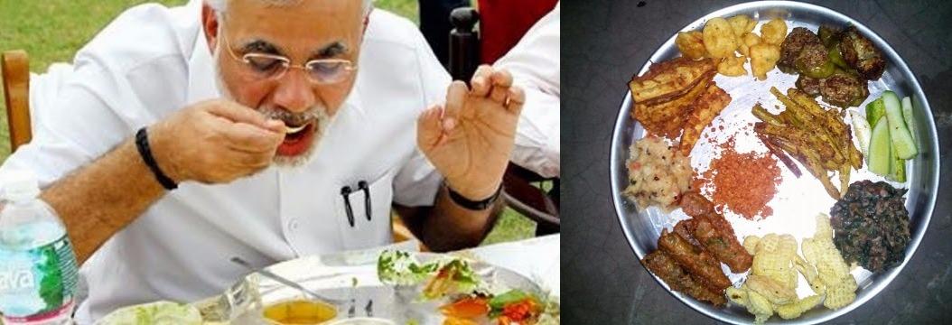 modi odisha visit food