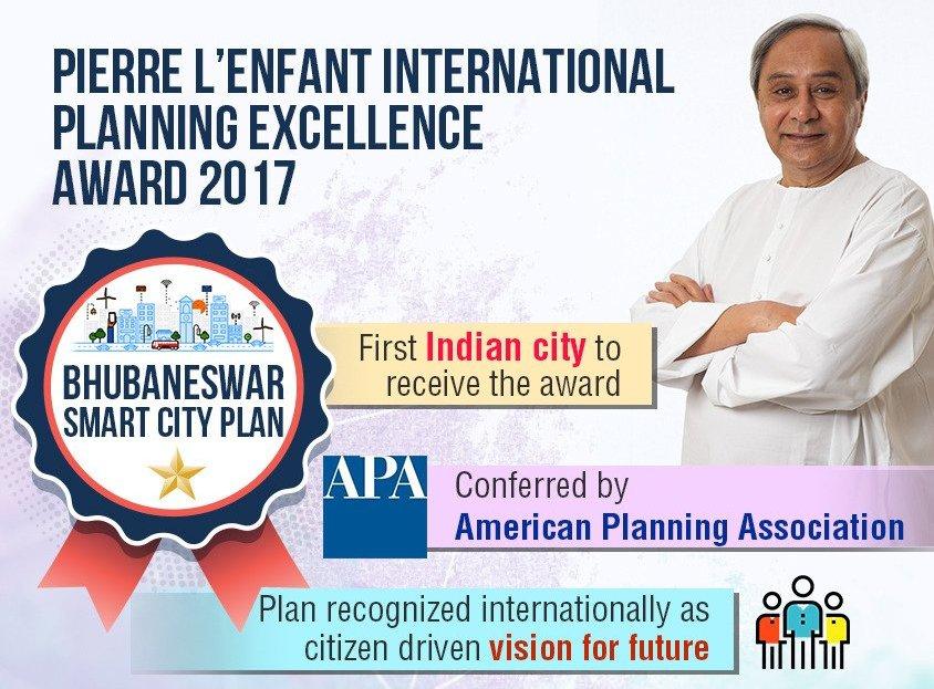 planning award bhubaneswar