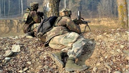 secirity forces– militants
