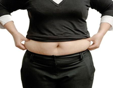 tummy bulge