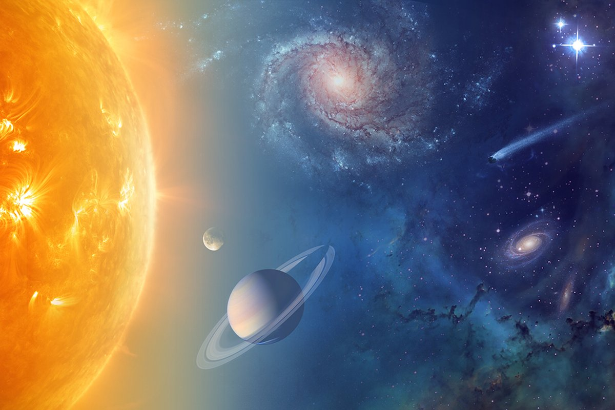 universe solar system